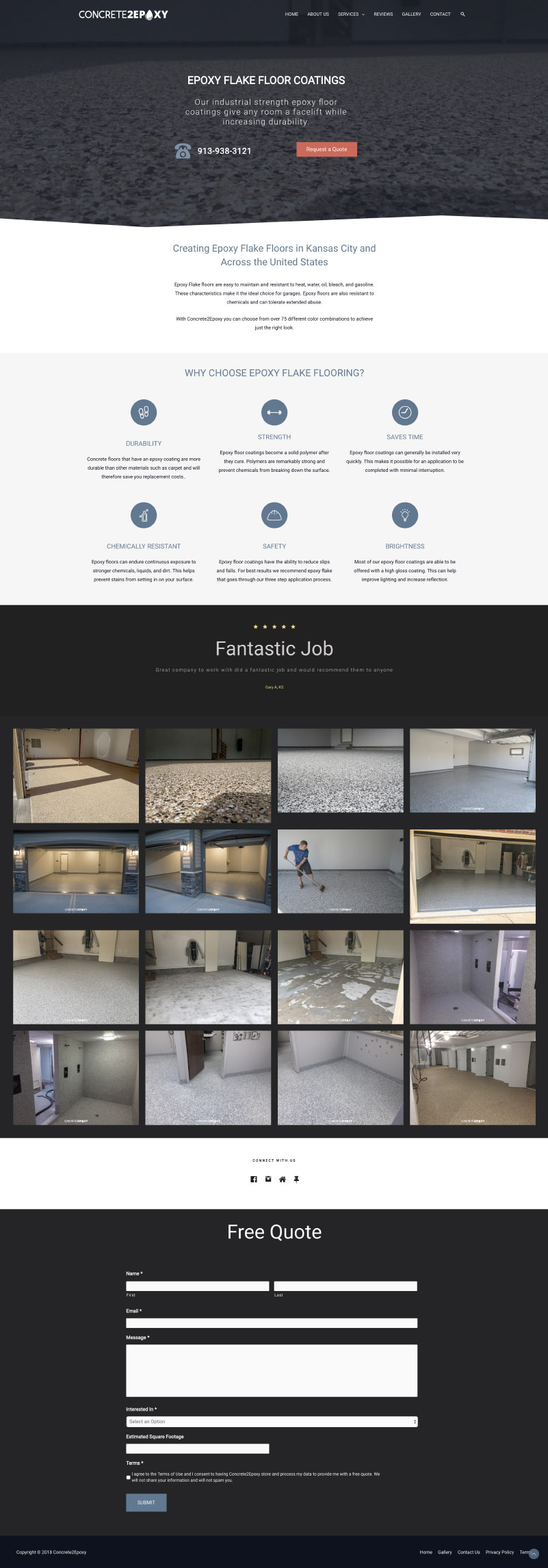 Concrete2epoxy Final Design